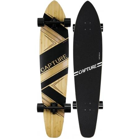 "Capture Outdoor, Longboard ""Bamboo Surf Orca 44"", 112cm, 44,09"", Longboard bois d'Erable, Bambou, Carbone ABEC-9, …"