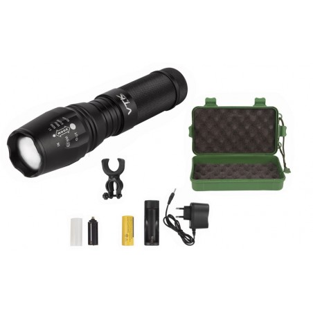 "Capture Outdoor, Torche Pro ""XTI-10WT"", CREE led Power, 2000Lumens, 10Watt, Rechargeable, Aluminium, jusqu'à 800mètres, …"